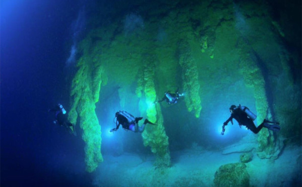 Image result for blue hole diving